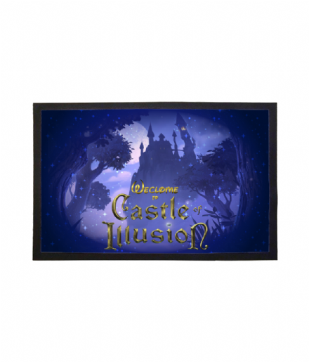 Disney & Sega's Castle of Illusion Inspired Doormat Printed Welcome Mat
